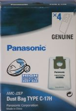 Panasonic Vacuum Cleaner Bag C17H High Efficiency Dust Bag AMC-J2EP